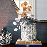Global Mediterranean Blue Vase