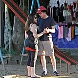Jesse Eisenberg and Girlfriend Enjoy a Romantic PDA-Filled Day in Rio!