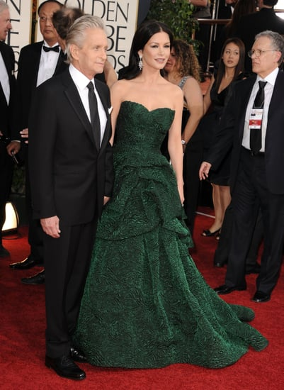 Pictures of Michael Douglas and Catherine Zeta-Jones at 2011 Golden Globe Awards