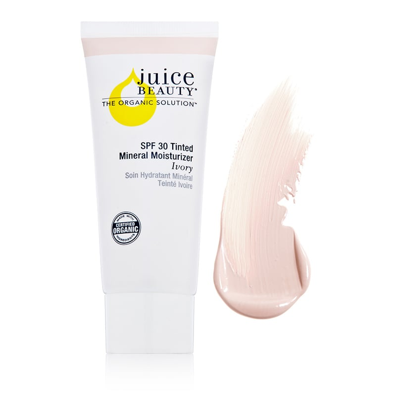 Juice Beauty Tinted Mineral Moisturizer, Ivory, SPF 30 ($29) EWG Rating: 1 This will even out your skin and provide coverage from the sun.