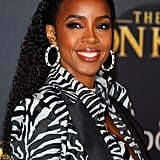 Pictured: Kelly Rowland at The Lion King premiere in Hollywood.