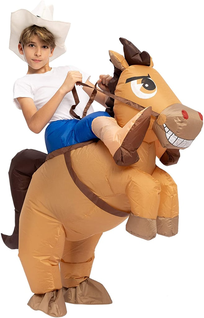 Spooktacular Creations Inflatable Cowboy Riding A Horse Halloween Costume 10 Kids Halloween Costumes That Make It Hard To Get Too Close Popsugar Family Photo 5