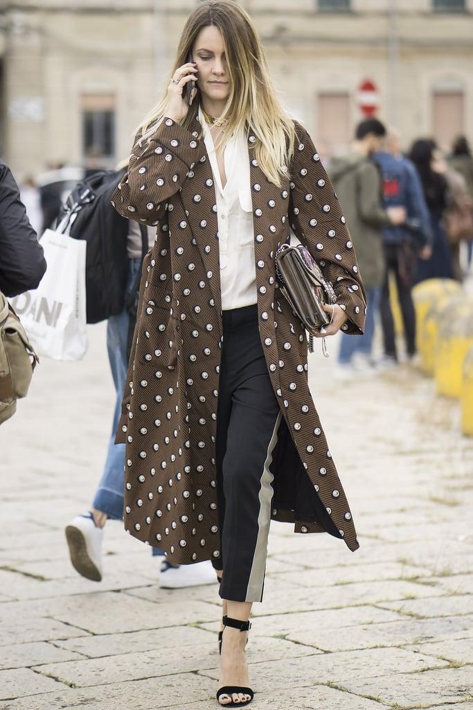 Milan Fashion Week Street Style Spring 2017 Popsugar Fashion Photo 173