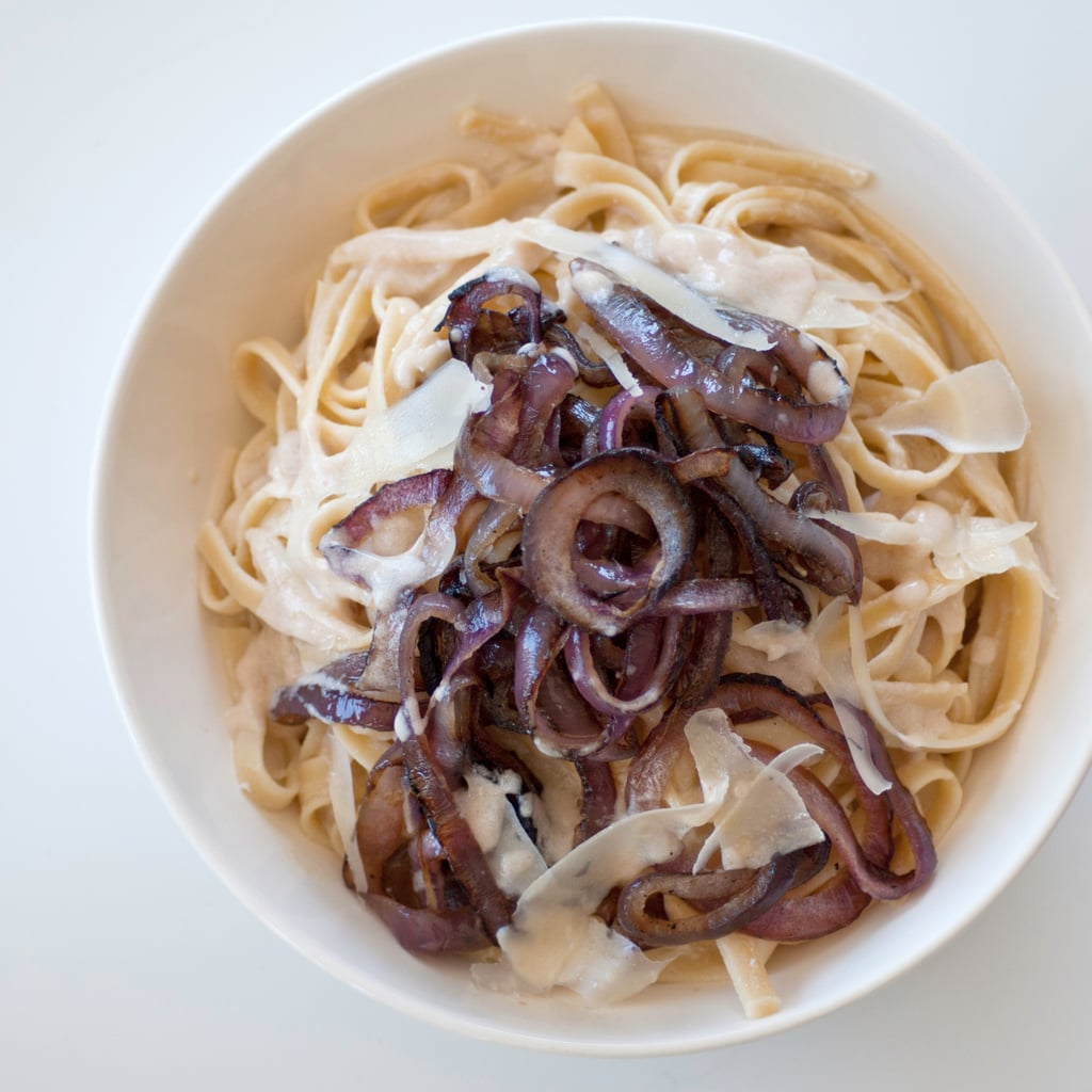Caramelized Red Onion Fettuccine