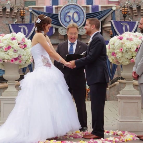 Kleenex Surprises a Couple With a Wedding at Disneyland