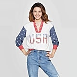 Weekend Soul Women's Fourth of July USA Sweatshirt