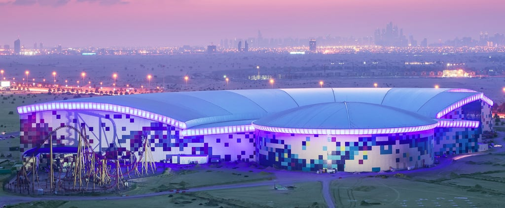Dubai's IMG Worlds of Adventure is Largest Indoor Theme Park