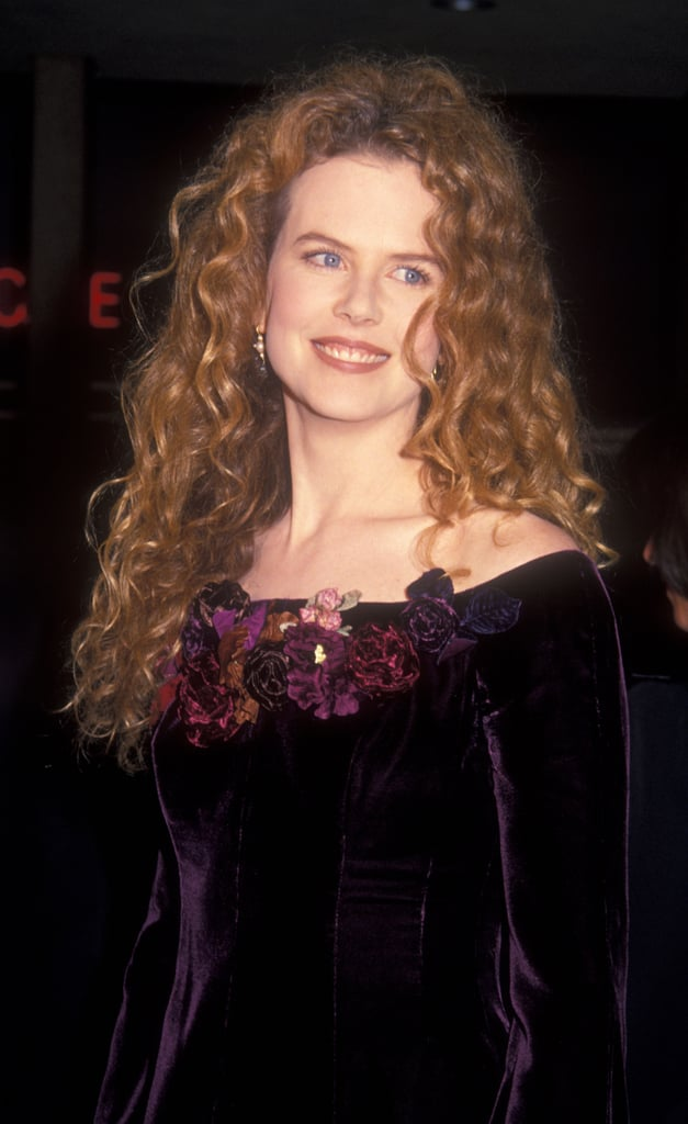 Nicole Kidman's Natural Hair Color in 1993