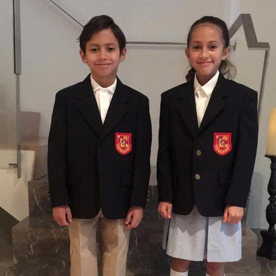 Jennifer Lopez's Twins' First Day of School Photo 2017