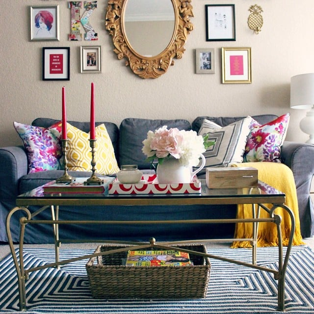 The Find: A Striped Rug.