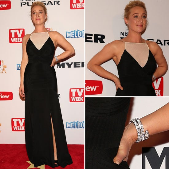 Pictures of Asher Keddie in Yeojin Bae at 2013 Logie Awards
