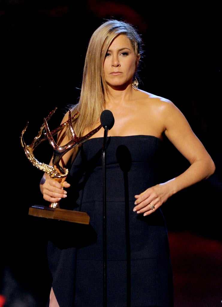 Jennifer Aniston at the Guys Choice Awards.