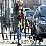 Michelle Williams Keeps It Casual During a Lucky Sunday Stroll