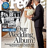 This wedding moment between George and Amal was so special, People magazine chose it for the cover of their issue.
