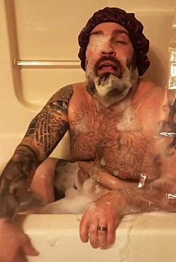 Dad Imitates His Daughter's Evening Routine | TikTok Video