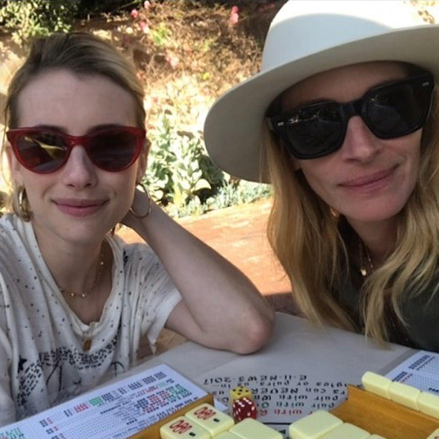 Julia Roberts And Emma Roberts Instagram Photo Sept 2018 Popsugar