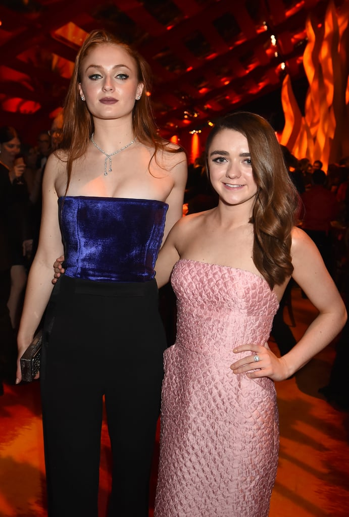 They stuck together during HBO's Emmys afterparty in September 2015.