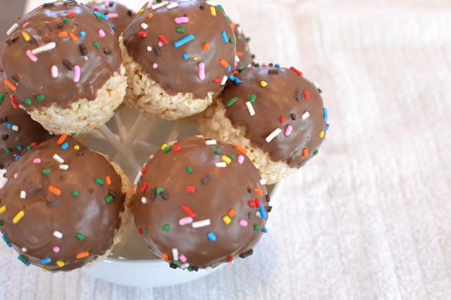 Rice Krispies Cake Pops