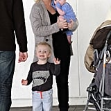 Amy Poehler and Will Arnett Bring Archie and Abel Along For a Weekend Trip