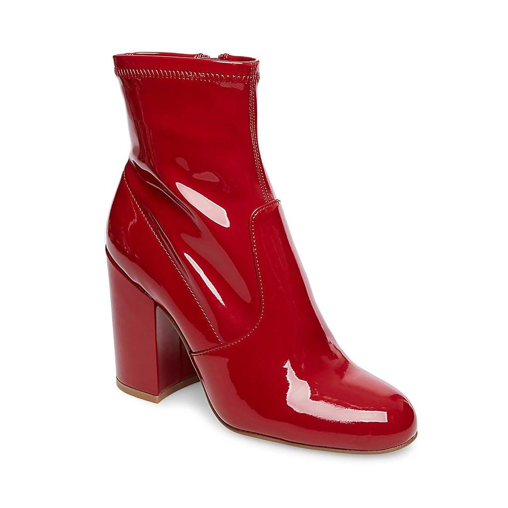 b280ef08807 Steve Madden Gaze | Red Boots | POPSUGAR Fashion Photo 6