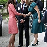 The Duchess of Cambride at Royal College London March 2017
