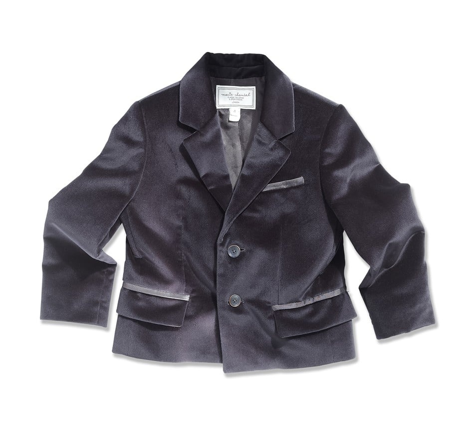 There's no doubt that he'll look dashing and camera-ready in this navy velvet blazer ($272).
