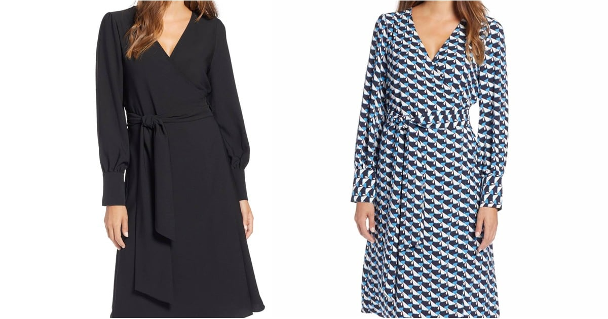 I Love This Flattering Wrap Dress From Nordstrom So Much, I Bought It in 3 Colors