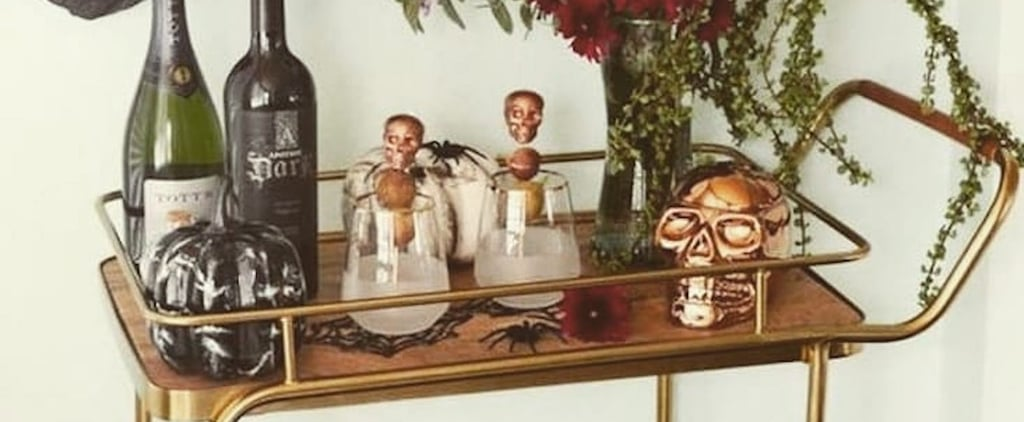 25+ Halloween Bar Cart Decorating Ideas