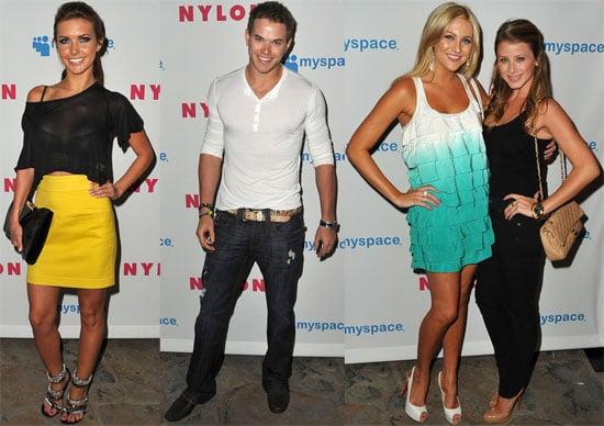 Photos of Audrina Patridge, Lo Bosworth, Stephanie Pratt, Kellan Lutz at Nylon Young Hollywood Party