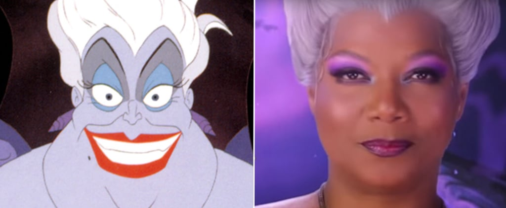 Little Mermaid Live Cast Compared to Animated Characters