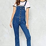 Nasty Gal Back in Town Denim Overalls