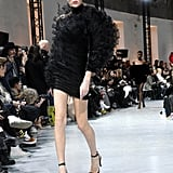 Rihanna's Alexandre Vauthier Couture Dress on the Runway During Paris Fashion Week