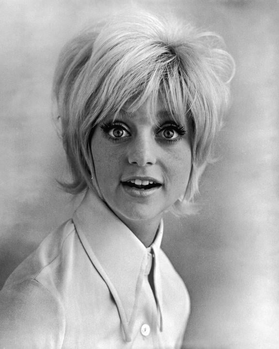Goldie Hawn's Laugh-In Pageboy