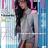 Victoria Beckham struck a stunning pose for the cover of March 2013's Elle UK. Photos courtesy Carter Smith for Elle UK