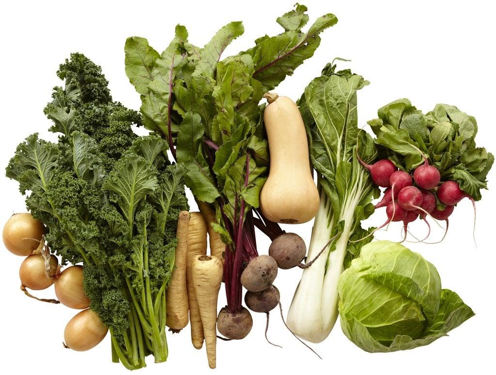 Farmers Market Organic Seasonal Vegetable Bundle