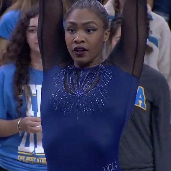 Hallie Mossett's Beyoncé-Inspired Gymnastics Routine