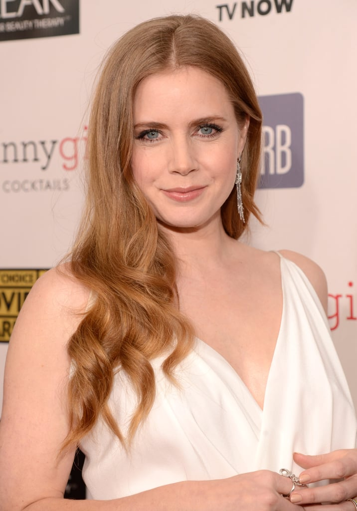Amy Adams let her hair down at the Critics' Choice Awards