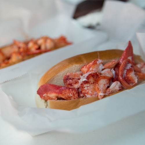 Maine-Style Lobster Roll