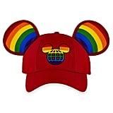 Rainbow Disney Collection Mickey Mouse Ears Baseball Cap For Adults — Walt Disney World