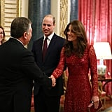 Catherine, Duchess of Cambridge at the UK-Africa Investment Summit, Buckingham Palace