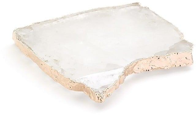 ANNA new york by RabLabs Crystal & Rose Gold Kivita Coaster Set ($160)