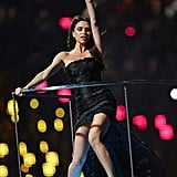 Victoria Beckham returned to full Posh Spice mode during the closing ceremonies.  Source: Twitter user victoriabeckham