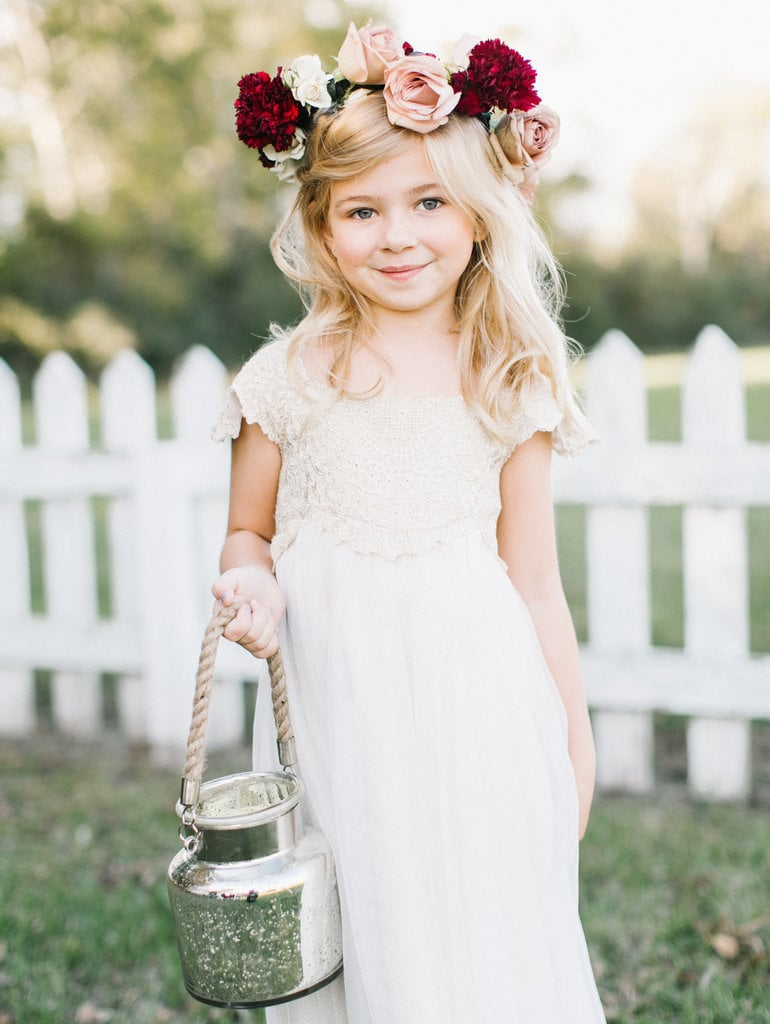 Wedding Flower Crown Ideas For Flower Girls Popsugar Family