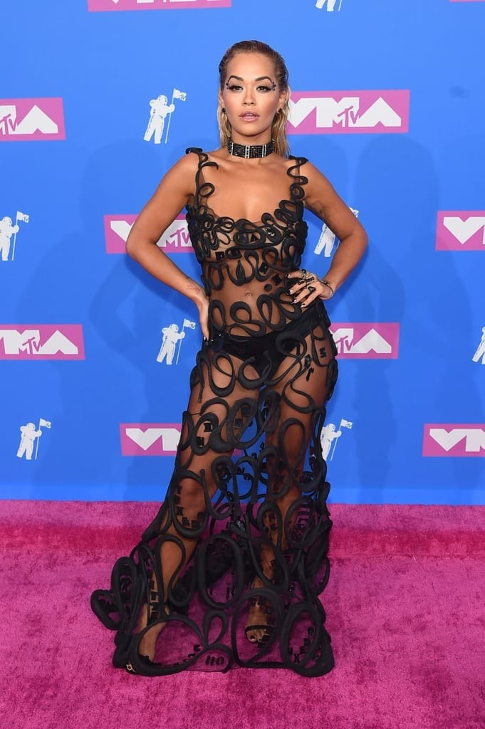 Rita Ora S Dress At The 2018 Mtv Vmas Popsugar Fashion