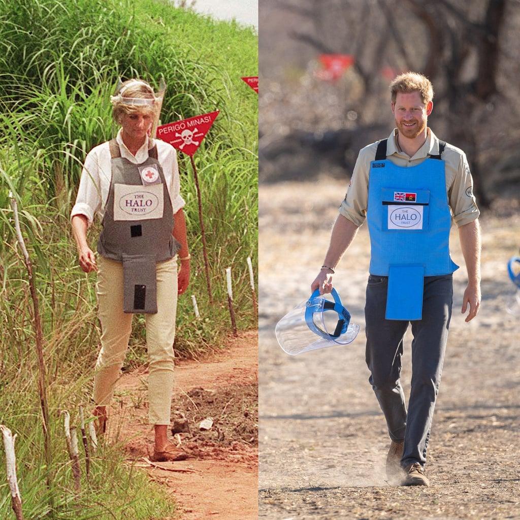 Prince Harry Visits Minefield in Angola Like Princess Diana