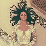 Kendall Jenner teaching us cool new ways to play with our hair.