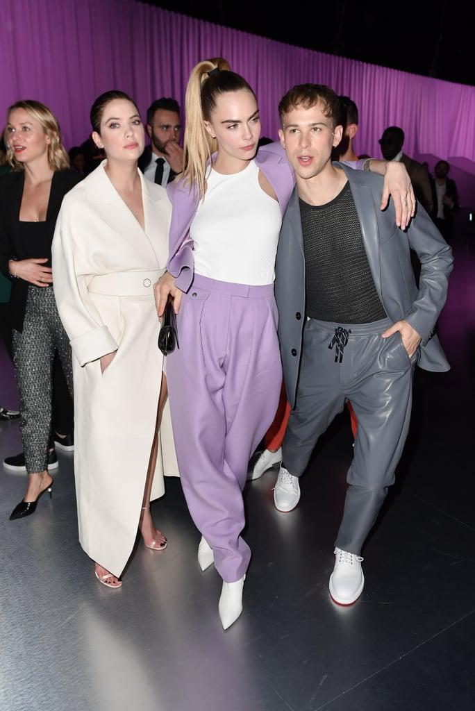Cara Delevingne And Ashley Benson S Outfits In Milan Popsugar Fashion Australia