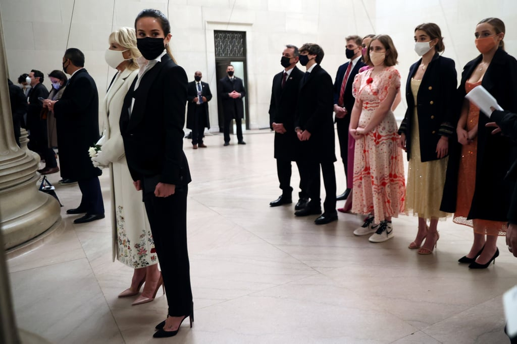 Ashley Biden Wears Tux For Inauguration Celebration | Photos