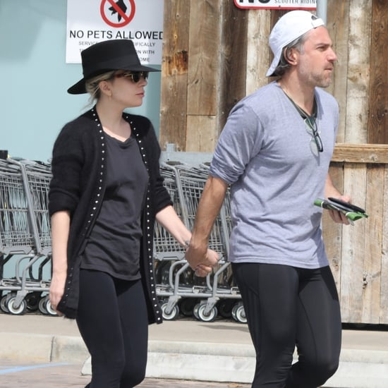 Lady Gaga and Christian Carino Holding Hands March 2018