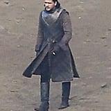 And what's this? Kit Harington as Jon Snow!